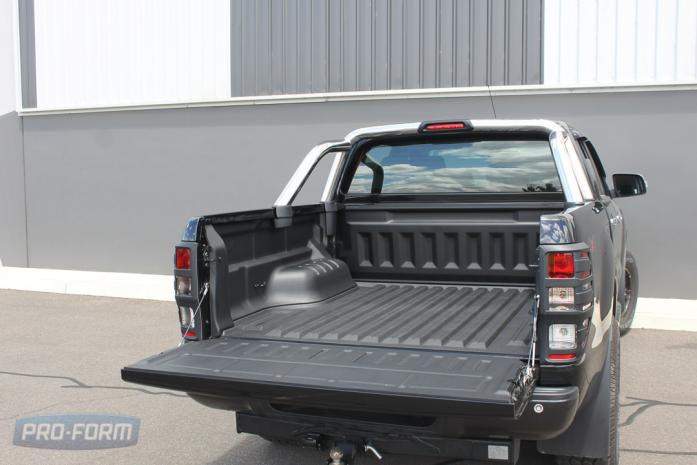 Ute Ford Ranger T6 with Sportguard Bedliner plastic drop in