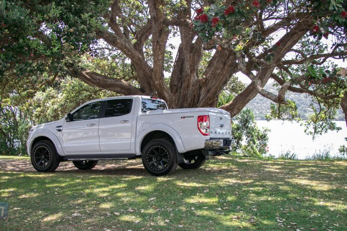 Ford Ranger Sportlid for Tango White without roll bar