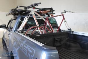 Ford ranger T6 Tango with bikes and loadmaster