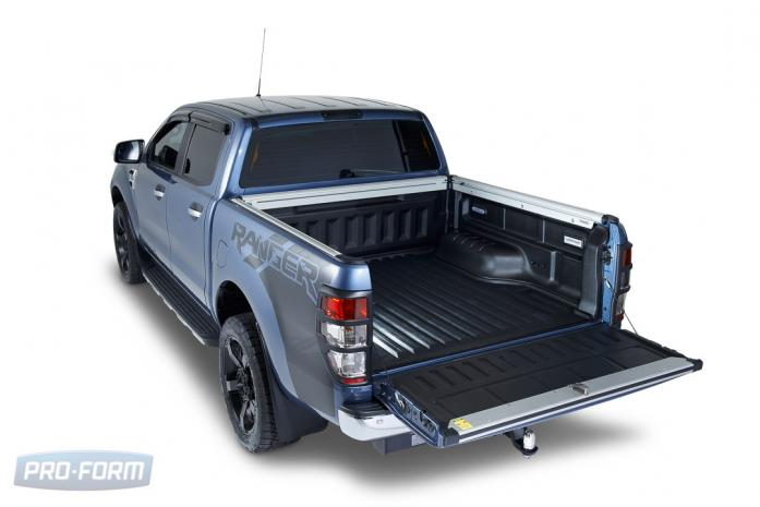 Ute Ford Ranger T6 with Sports Guard Bedliner plastic drop in