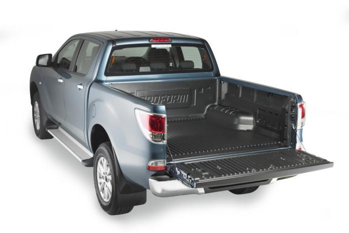 Mazda BT50 plastic tuff deck bedliner