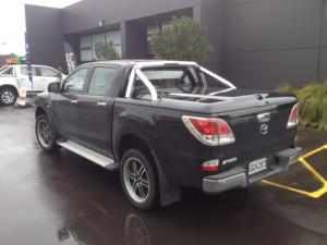 Sportlid 2 tonneau cover fitted to mazda bt50