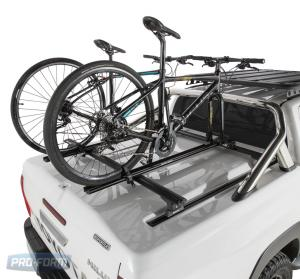 White Sportlid for tango racks on a Toyota Revo Hilux 4x4