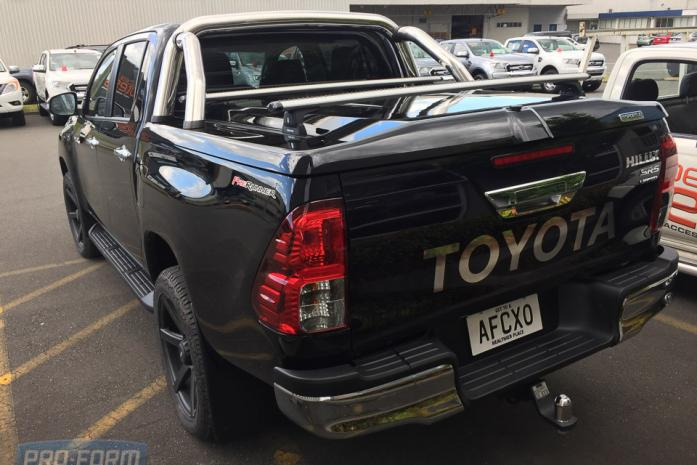 Black Sportlid for tango toyota hilux revo ute cover lid