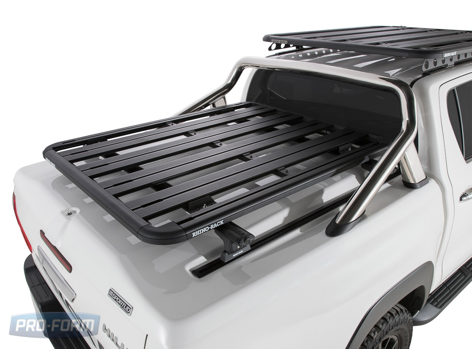 Sportlid for tango racks on a Toyota Revo Hilux 4x4