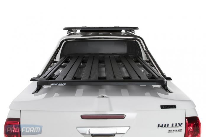 Toyota Hilux Revo Sportlid for Tango. White Ute