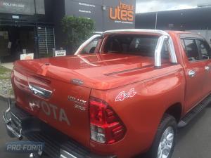 Orange Sportlid for tango toyota hilux revo ute cover lid