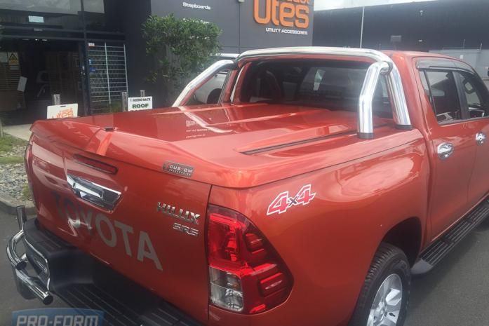 Orange Sportlid for tango toyota hilux revo ute cover lid