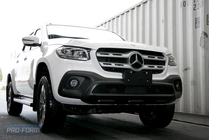 Mercedes Benz Ute X-Class photo transformation station-1