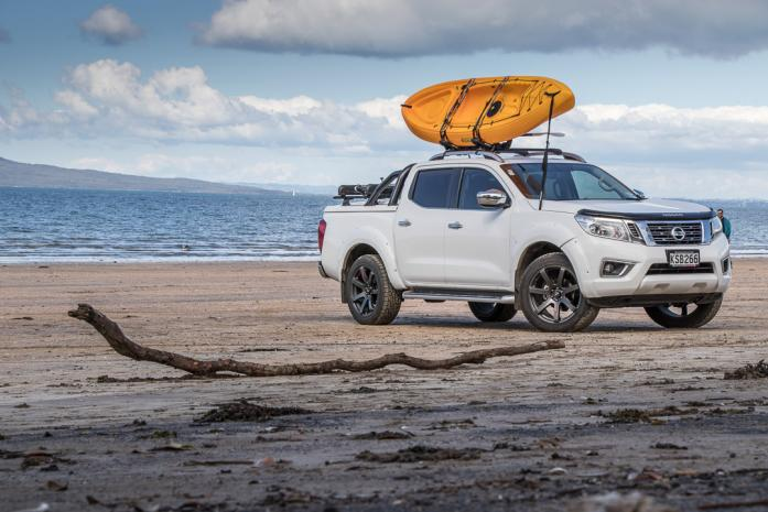 Nissan Navara Ute with hard cover lid