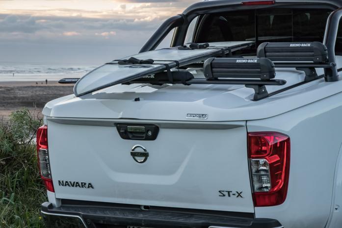 Nissan Navara Ute with hard cover