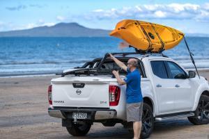 Nissan Navara NP300 Sportlid for Tango on beach