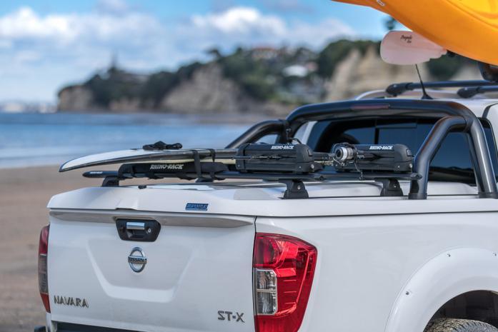 Nissan Navara NP300 Sportlid for Tango on auckland beach